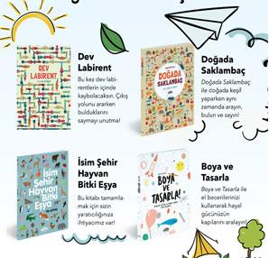 Yaz tatilinde çocuklara 4 etkinlik kitabı önerisi