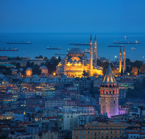 Yengeç burcunu yansıtan kentler