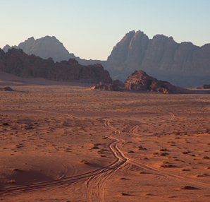 Ram Vadisi ve Mars'a benzeyen yüzeyi