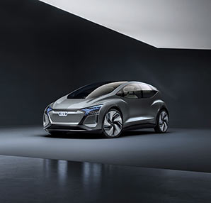 Audi'den otonom ve elektrikli otomobil konsepti AI:ME