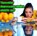 Yedikleriniz depresyon sebebi!