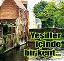 Ortaçağ'dan kalma masalsı Brugge!