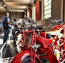 Tarihi fabrikada 10 Bin Motosiklet Tutkununu A��rlad�