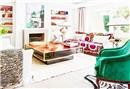 Rengarenk salon dekorasyonları