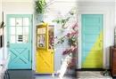 En güzel renkli kapı modelleri