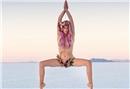 Ruhsal bozukluğu olanlara yogayla ilham oluyor