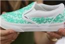 Dantelli ayakkabı yapımı