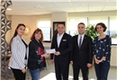 Türkiye Spastik Çocuklar Vakfı'na anlamlı destek