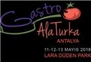Gastro Alaturka etkinliklerinin ilki Antalya'da