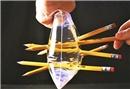 Eğlenceli deneyler: Kalem hilesi