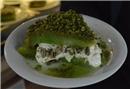 Afyonkarahisar'da Ramazan'a özel tatlı: Yeşil bomba