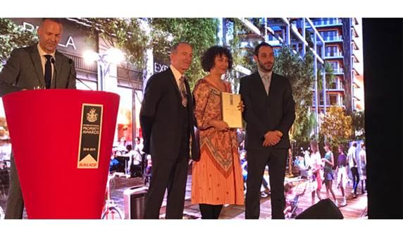 Avrupa'nın en iyi karma projesi ödülü Türkiye'ye 80
