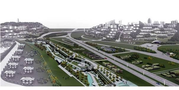 Gaziantep'in ekolojik kent projesi dünya basınında