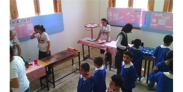 Kuzyaka Ortaokulu'nda TÜBİTAK Bilim Fuarı