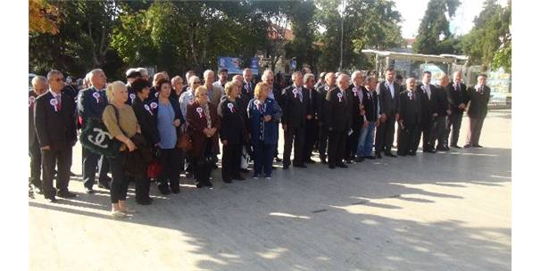 TÜRKİYE EMEKLİ ASTSUBAYLAR DERNEĞİNİN KURULUŞUNUN 30'UNCU YILI VE 17 EKİM DÜNYA ASTSUBAYLAR GÜNÜ TEKİRDAĞ'DA KUTLANDI