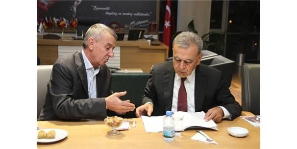GAZİEMİR'İN PROJELERİ MASAYA YATIRILDI