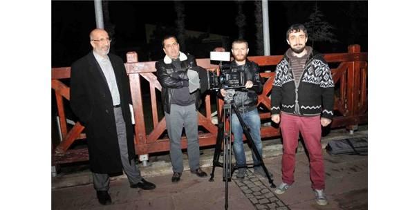 Antalya'da Noel Baba belgeseli çekimi yapıldı