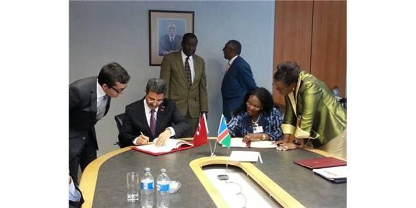 Türkiye ile Namibya arasındaki işbirliği artarak devam ediyor