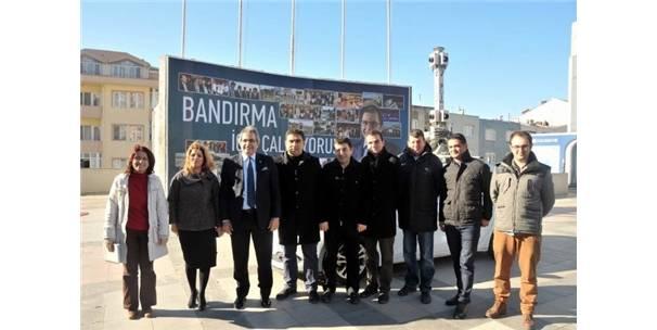 BANDIRMA'DA 360 DERECE KENT OTOMASYON SİSTEMİ ÇALIŞMASI