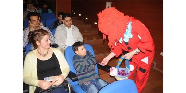Engelli çocukların 23 Nisan coşkusu