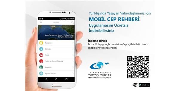 YTB'NİN CEP REHBERİ ARTIK TELEFONLARDA