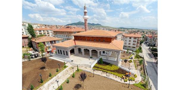 Alemdağa Yapilan Cami Açiliş Için Gün Sayiyor Ankara Haberleri