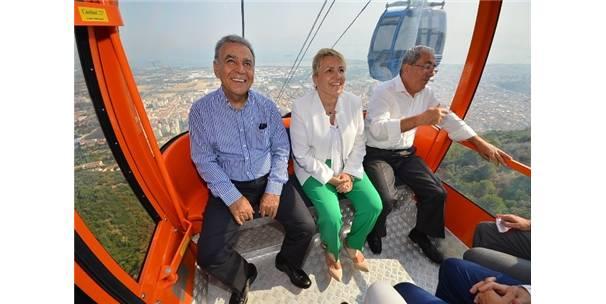 İzmir'de yeniden teleferik heyecanı-İzmir Haberleri