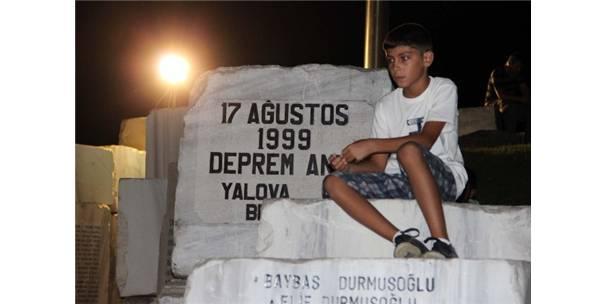 17 AĞUSTOS MARMARA DEPREMİ YALOVA'DA ANILDI