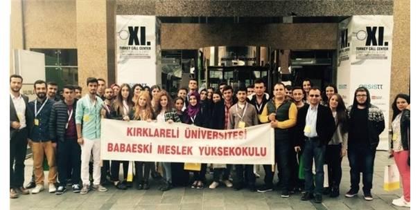 """KLÜ ÖĞRENCİLERİ """"ÖZEL SEKTÖR TECRÜBESİ"""" KAZANDI"""