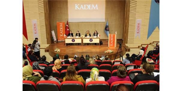 """KADEM'DEN """"KADIN VE ŞİDDET PANELİ"""""""