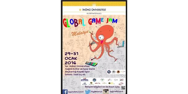 GLOBAL GAME JAM ETKİNLİĞİ İLK DEFA MALATYA'DA