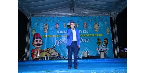 """BAŞKAN EROĞLU'DAN CEM ÖZDEMİR'E """"TOKAT"""" GİBİ SÖZLER"""