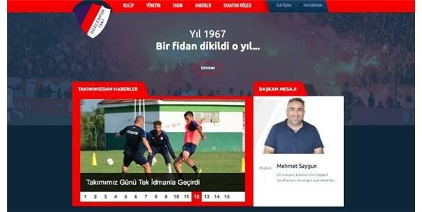 DÜZCESPOR WEB SİTESİ YAYINDA