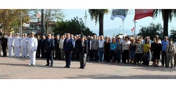 Mudanya'da Gaziler Günü kutlandı-Bursa Haberleri