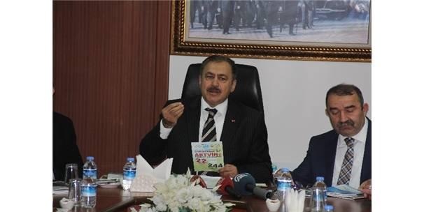 Bakan Eroğlu Artvin'de Cerattepe'yi konuştu