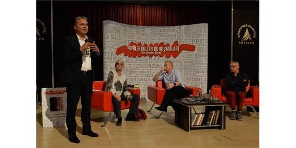 Muratpaşa'da 'Popüler Kültür Konuşmaları' Başladı