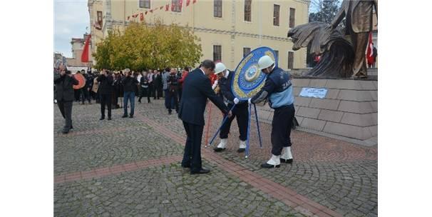 Sinop'ta 10 Kasım Töreni