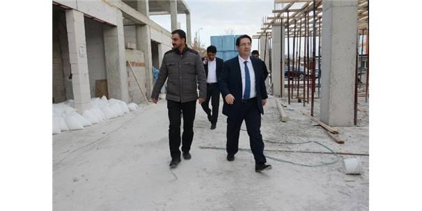 Aksaray'da Eski Terminal Dönüşüm Projesi Devam Ediyor