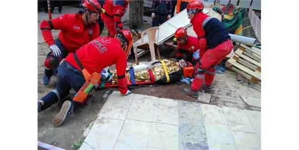 Hastanede Deprem Tatbikatı