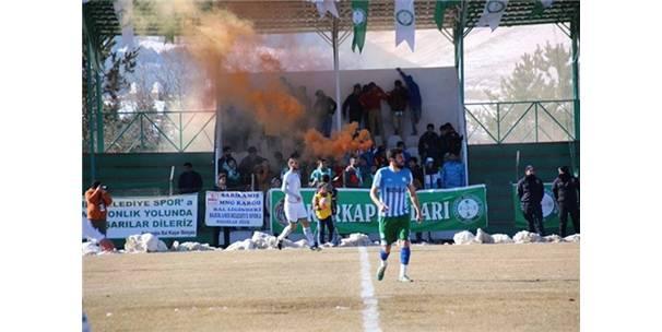 Sarıkamış Belediyespor - Rize Çayelispor: 1-0