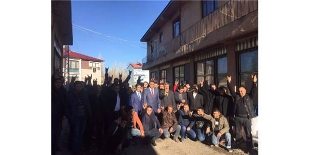 Akyaka Ülkü Ocakları Başkanlığı'nın Açılışı Yapıldı
