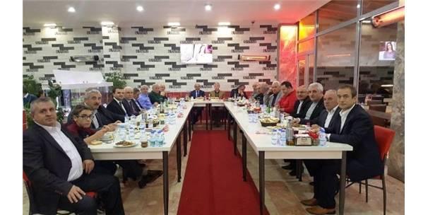 Başkanlar Yemekte Buluştu