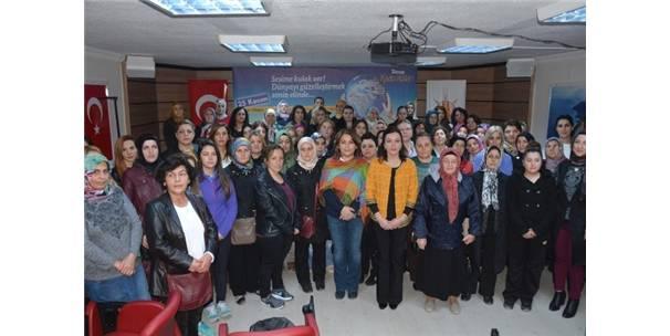 Ak Parti'li Kadınlardan Kadına Şiddete Tepki