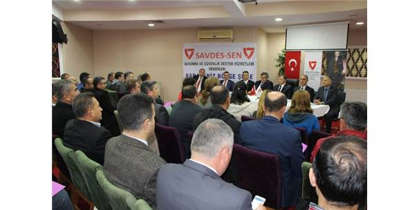 Savdes-Sen Yönetimi Amasya'da Üyeleriyle Buluştu