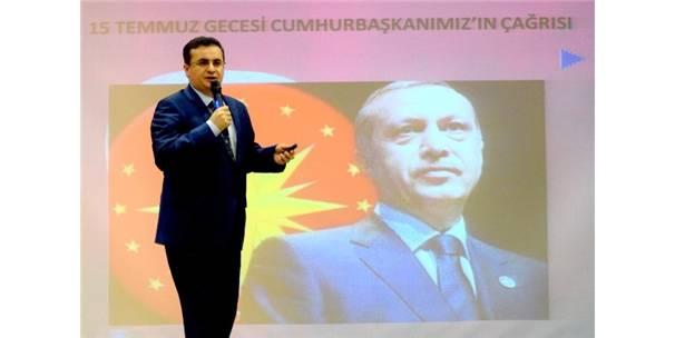 """Giresun'da """"10 Aralık İnsan Hakları Günü Ve 15 Temmuz Gecesi"""" Konferansı Düzenlendi"""