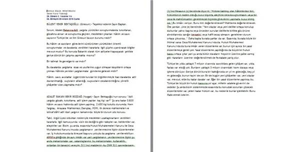 Adalet Bakanı Bozdağ'dan Fetö Hakimlerinin Kararları İle İlgili Flaş Açıklama