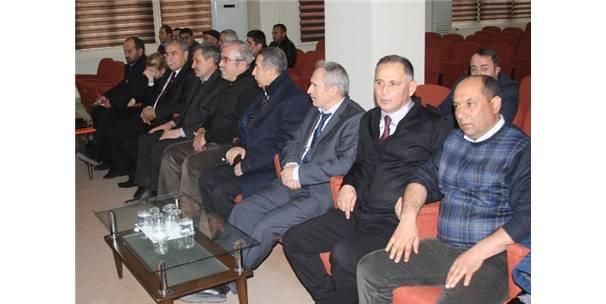 Erzincan'da Krom Madeninin Potansiyeli Masaya Yatırıldı