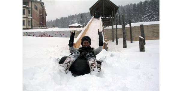 Kulakkaya Yaylası Kış Turizminin Yeni Gözdesi Olma Yolunda İlerliyor