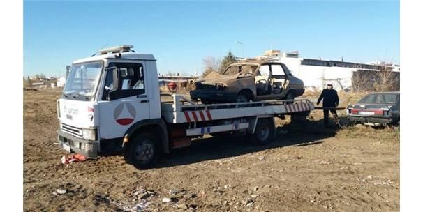 Edirne'de Hurda Araçlar Toplanıyor