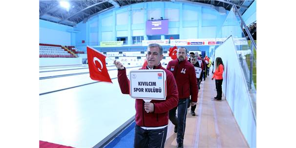 Curling Müsabakaları, Erzurum'da Başladı
